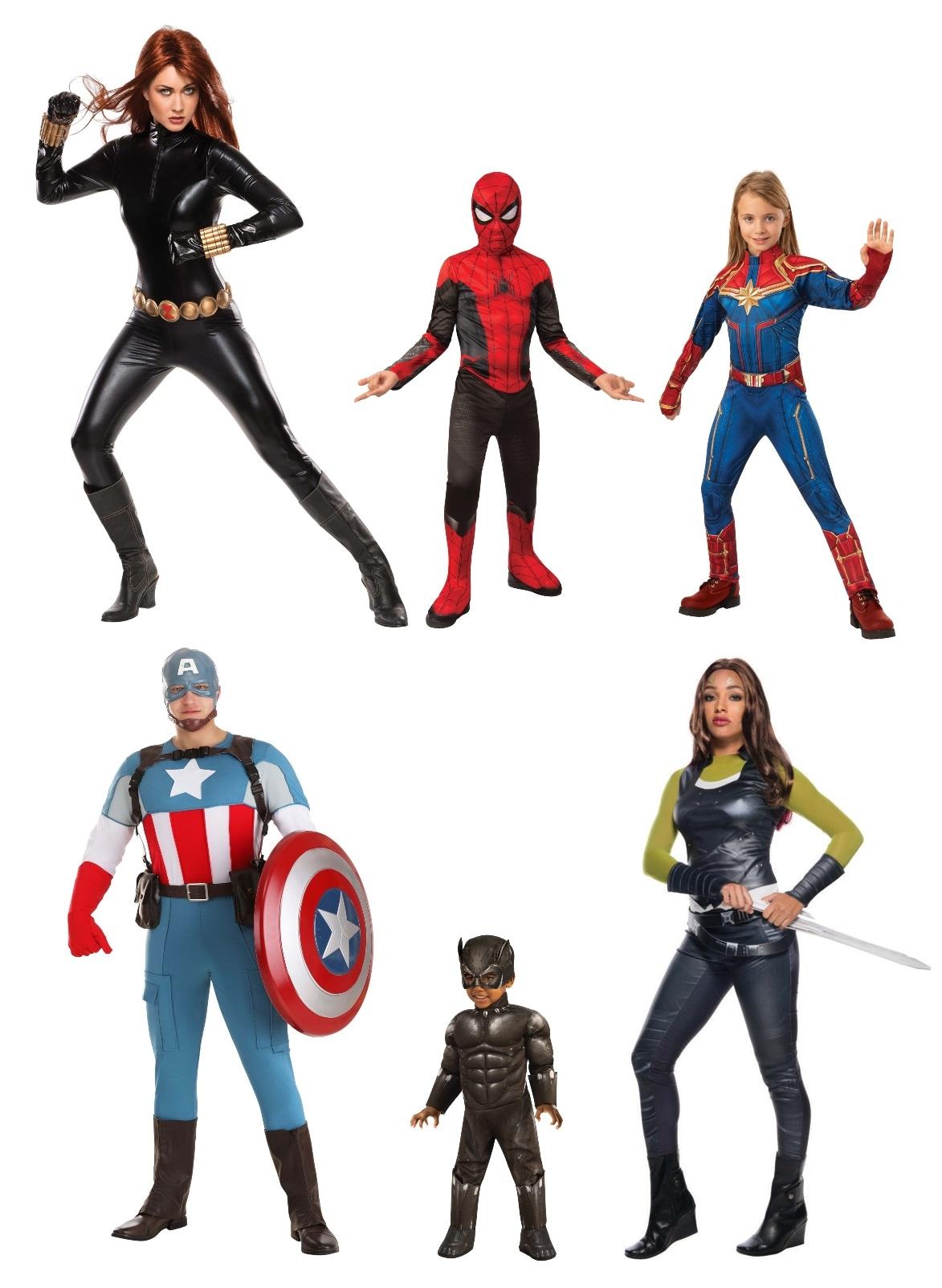 Avengers Group Costume Ideas