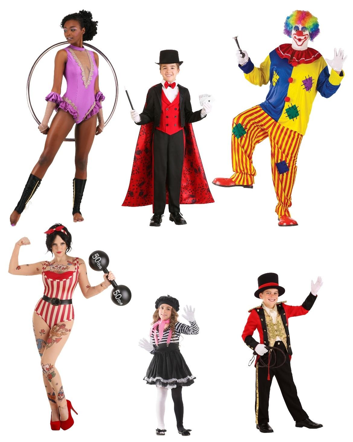 Circus Group Costume Ideas