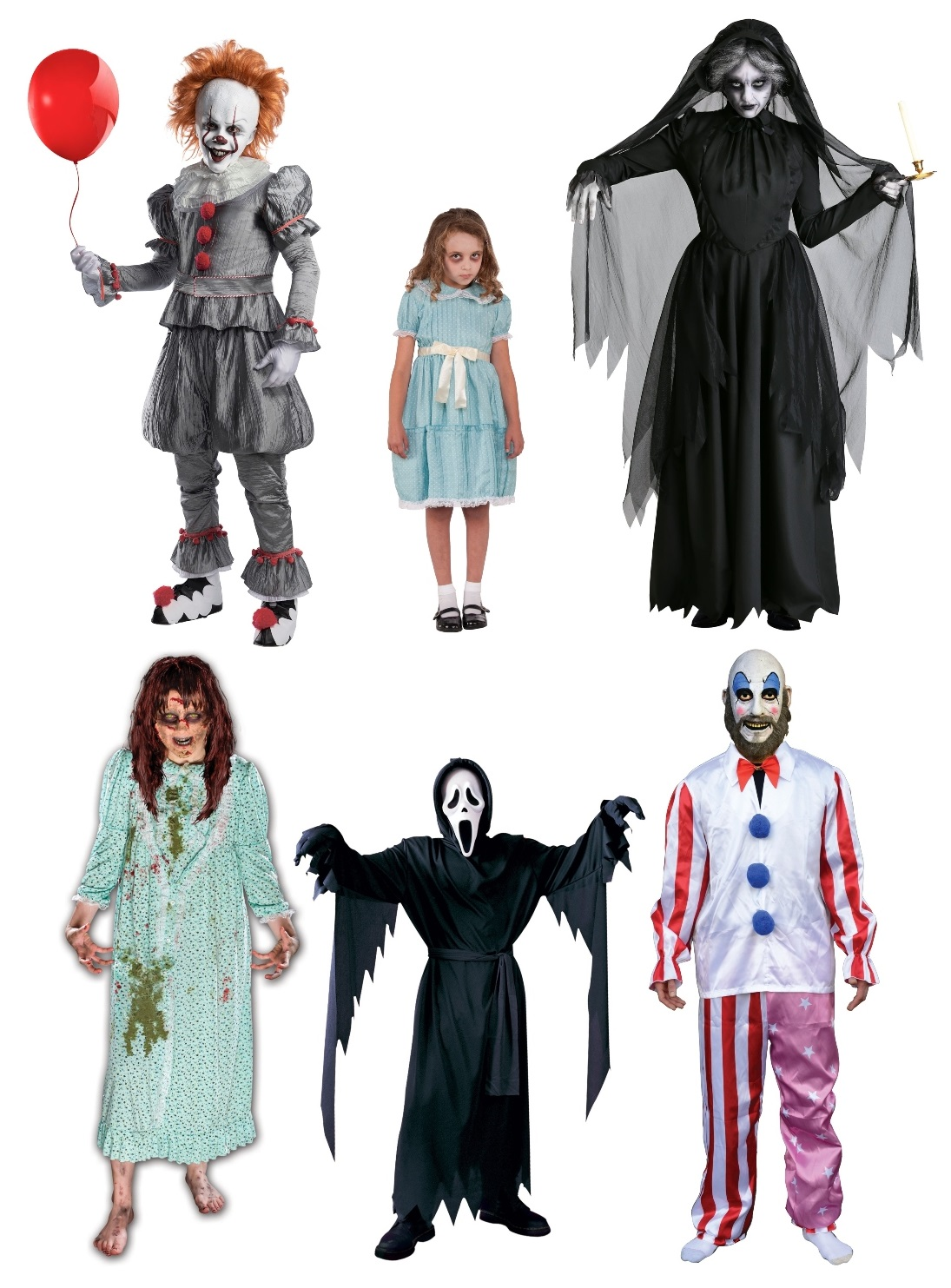 Horror Movie Group Costumes