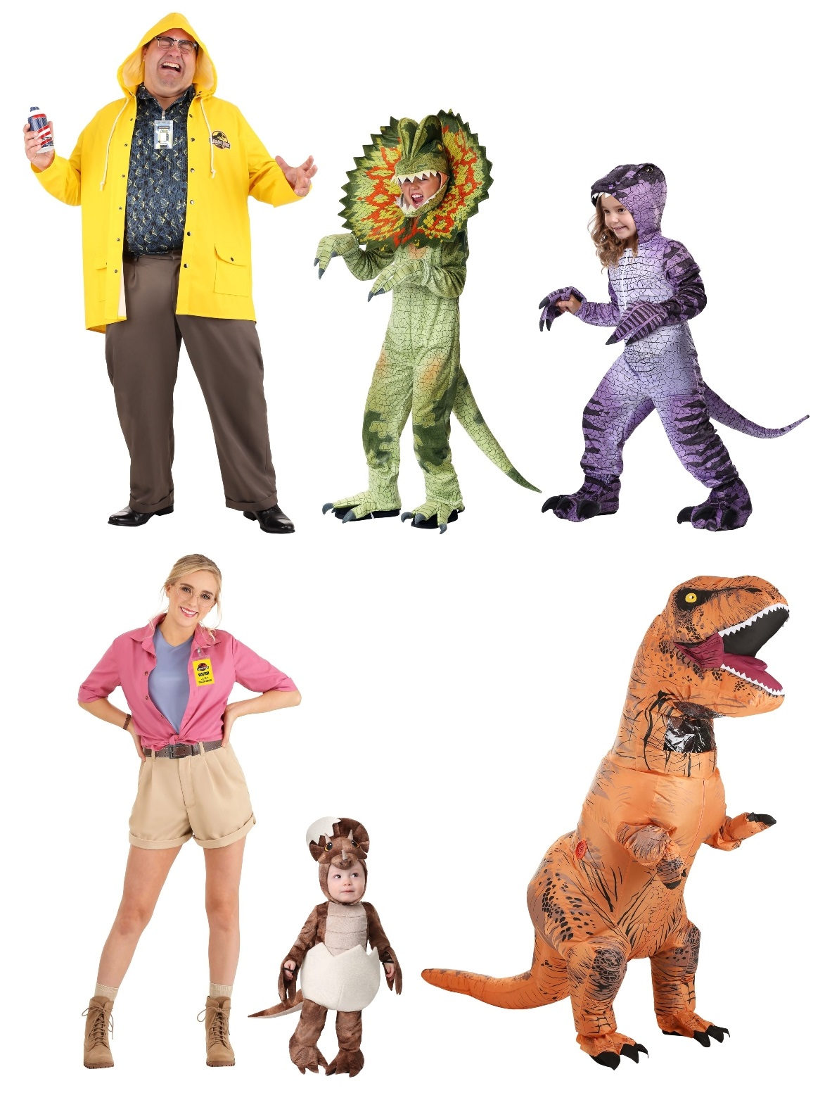 Jurassic Park Group Costumes