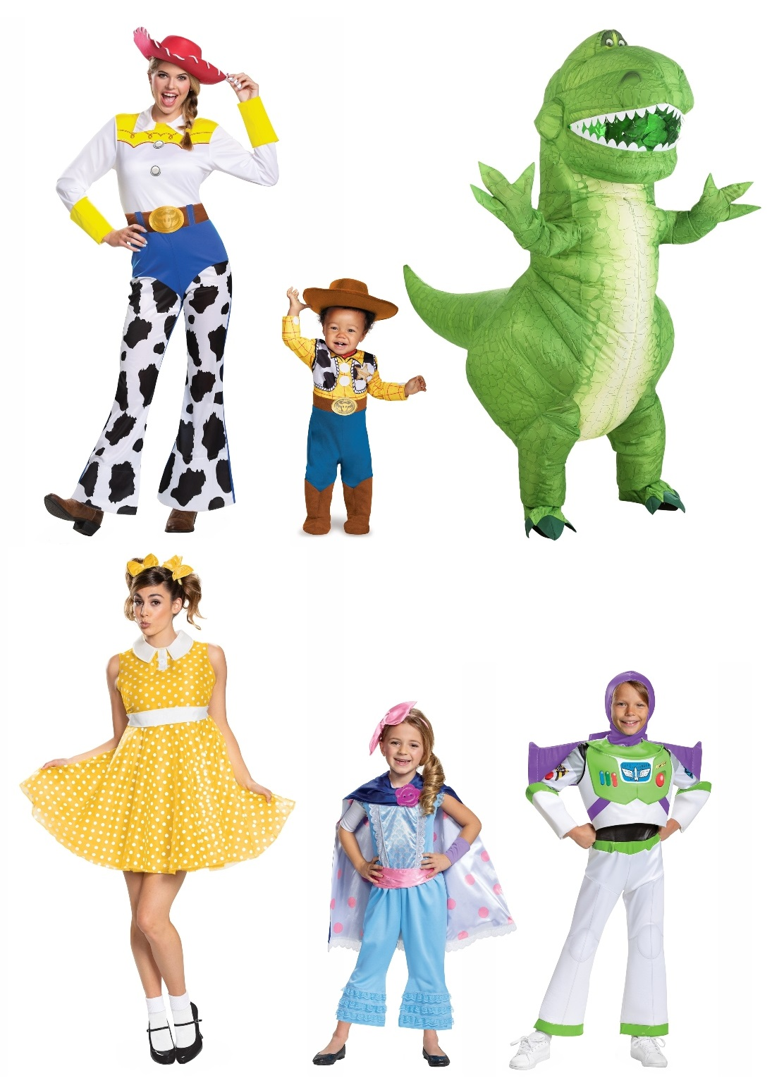 Toy Story Group Costumes
