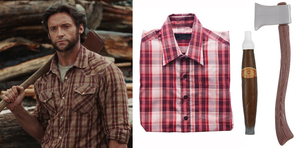 Lumberjack Logan Costume Idea