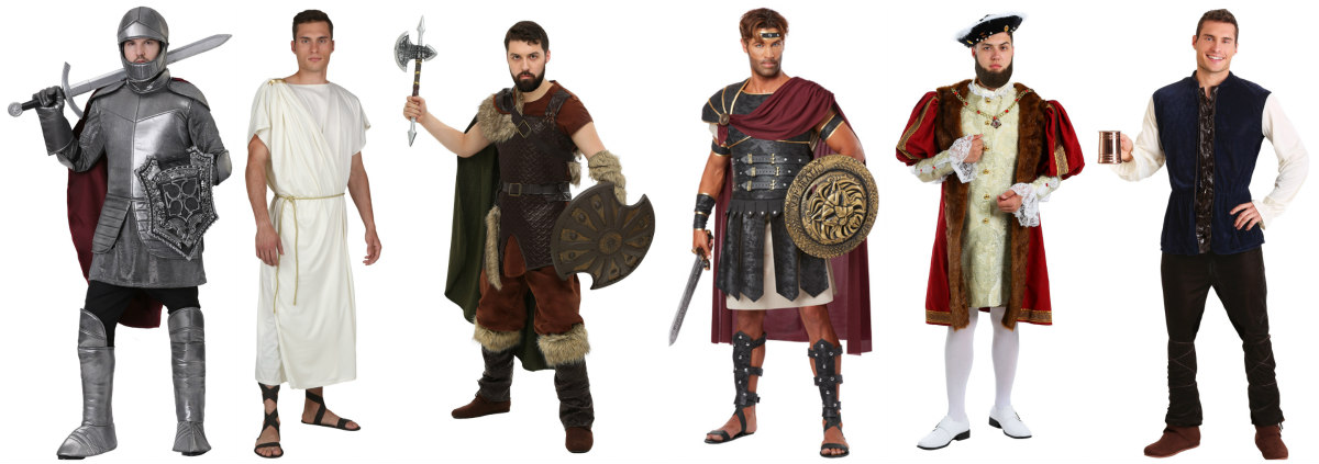 Big and Tall Historic Costume Ideas