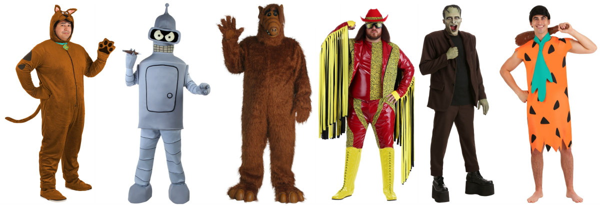 Big and Tall Television Costume Ideas