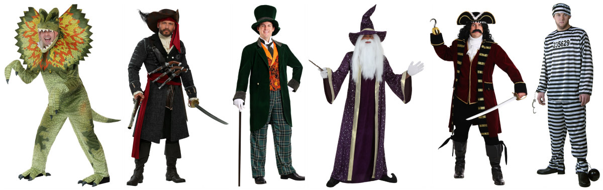 Exclusive Big and Tall Halloween Costumes