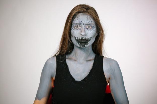 Horror Mask Step 2