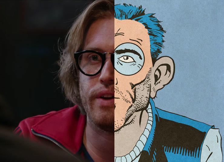 Weasel Comics vs. Movie Comparison