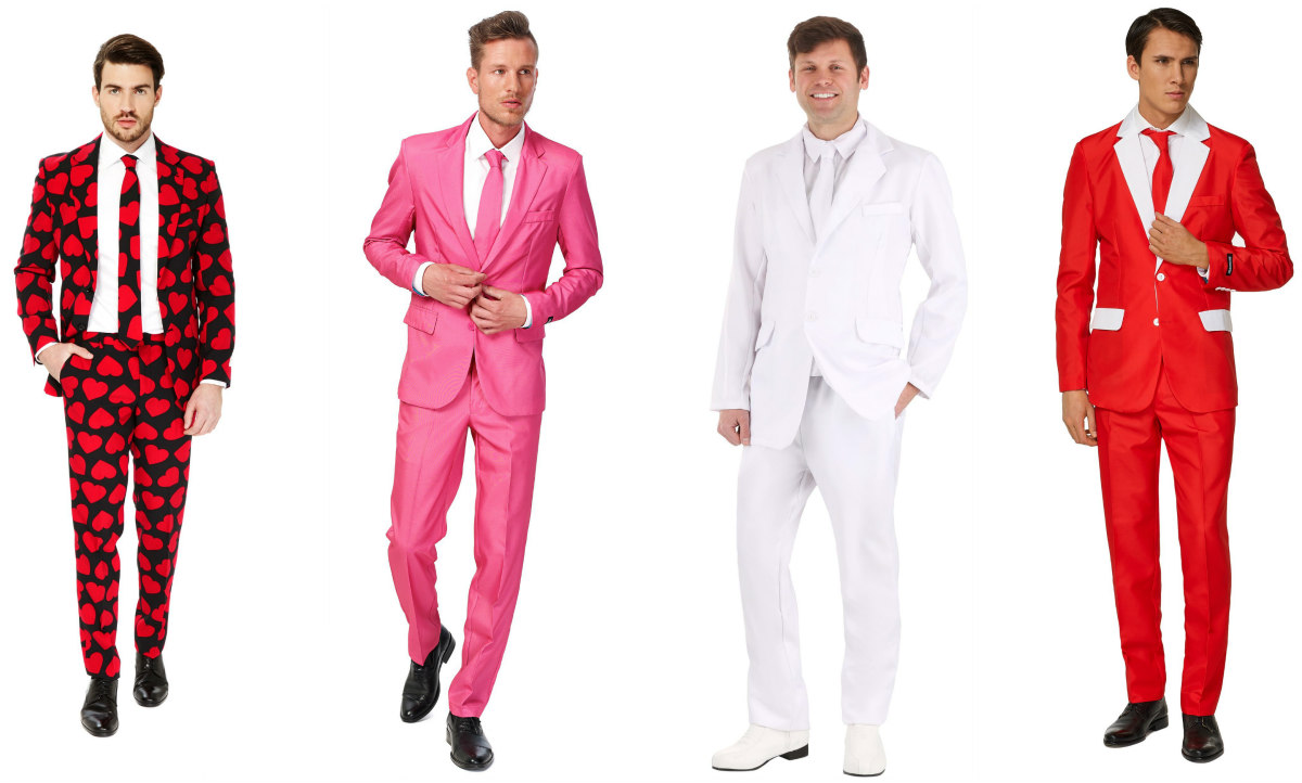 Valentine's Day Suits