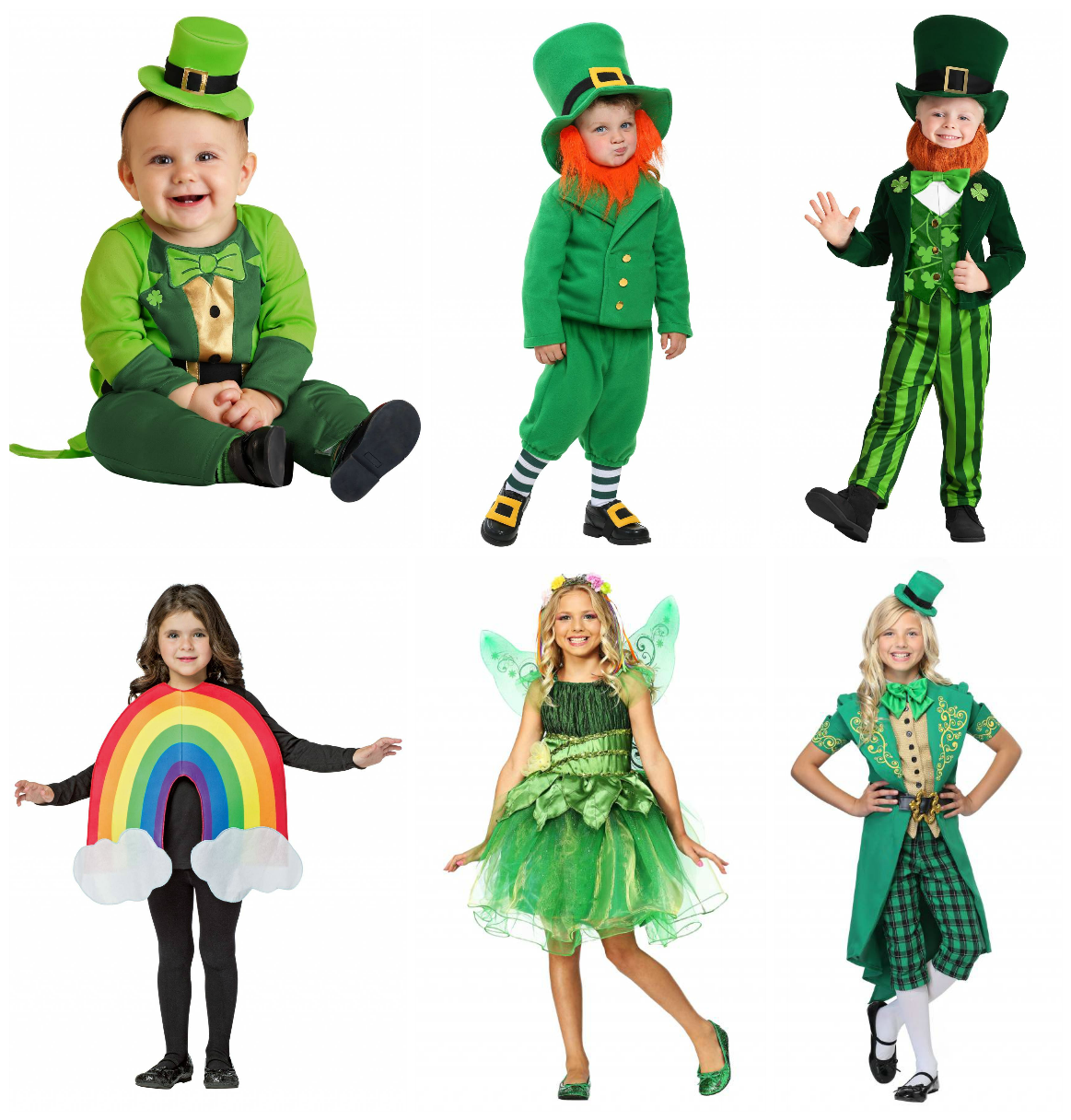 St. Patrick's Day Costumes for Kids