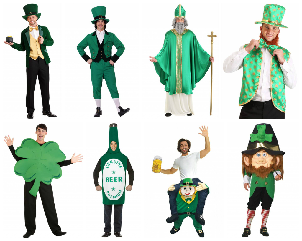 Men's St. Patrick's Day Costumes