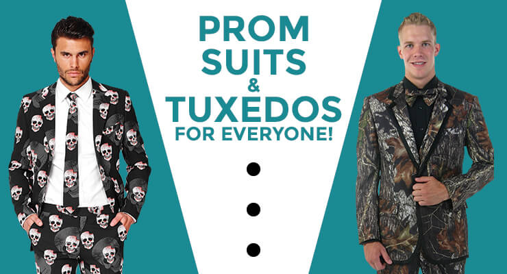 Prom Suits and Tuxedos Guide