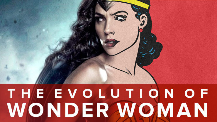 Wonder Woman Costumes Infographic