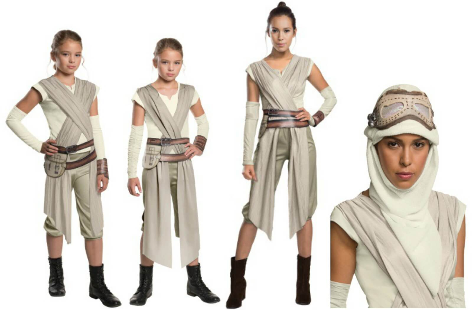 The Force Awakens Rey Costumes
