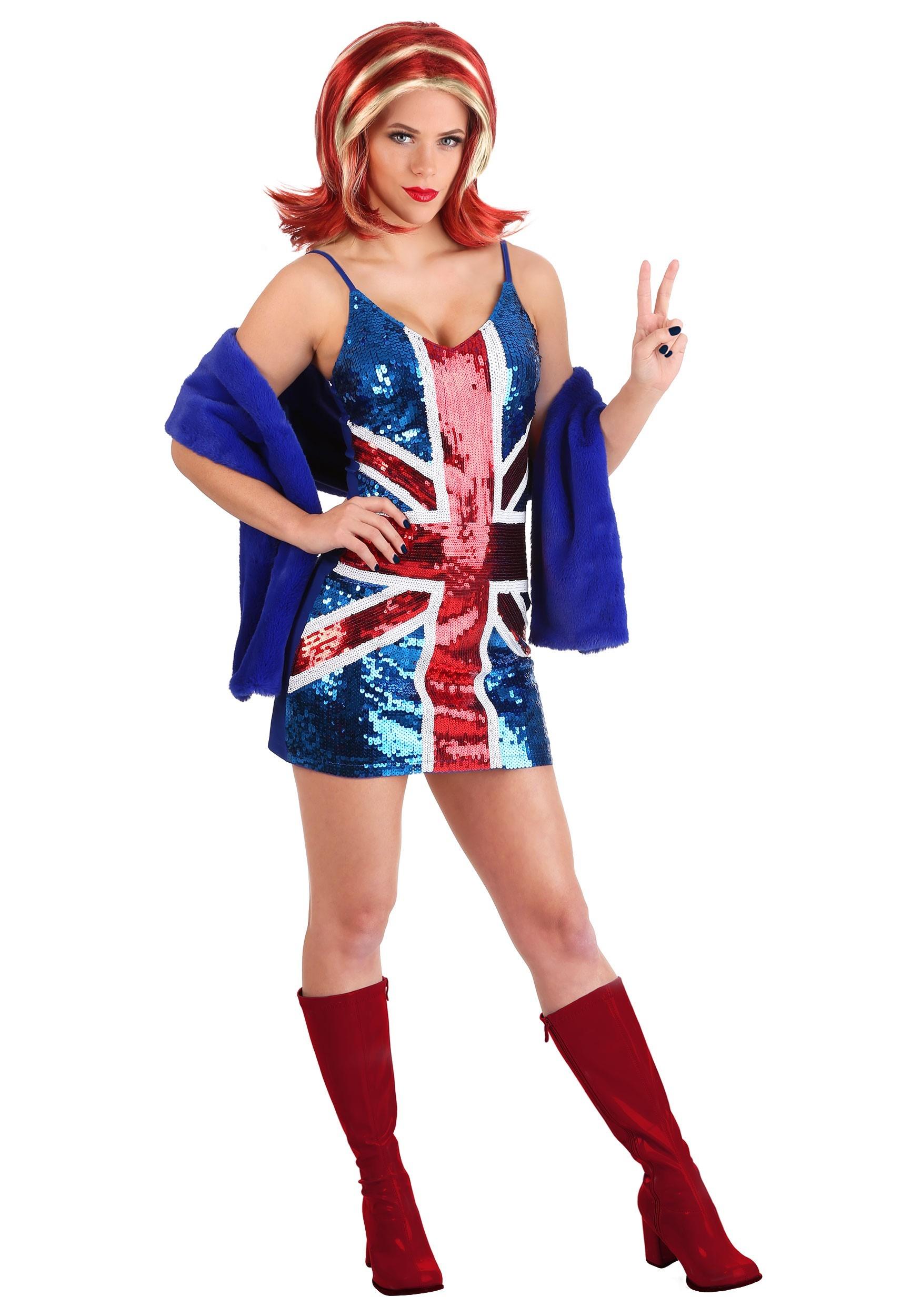 Ginger Spice Halloween Costume