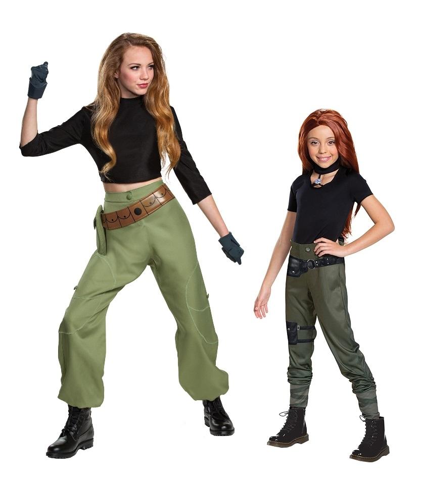 Kim Possible Halloween Costumes