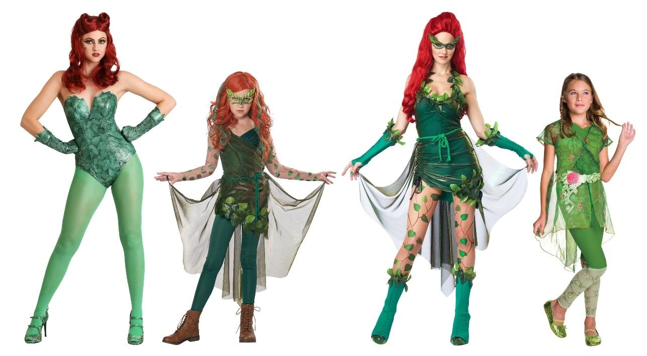 Poison Ivy Halloween Costumes