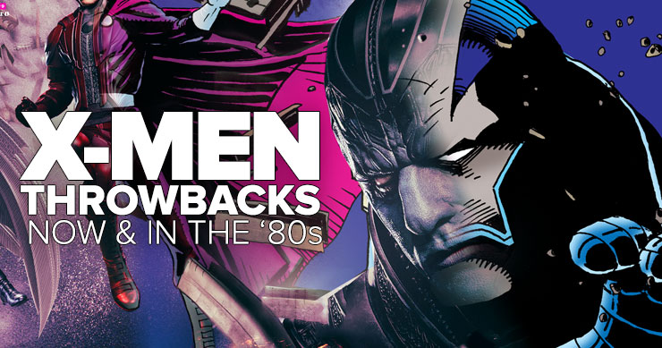 X-Men Throwback: The Superheroes Then & Now