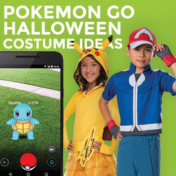 Pokemon GO Costume Ideas for Halloween