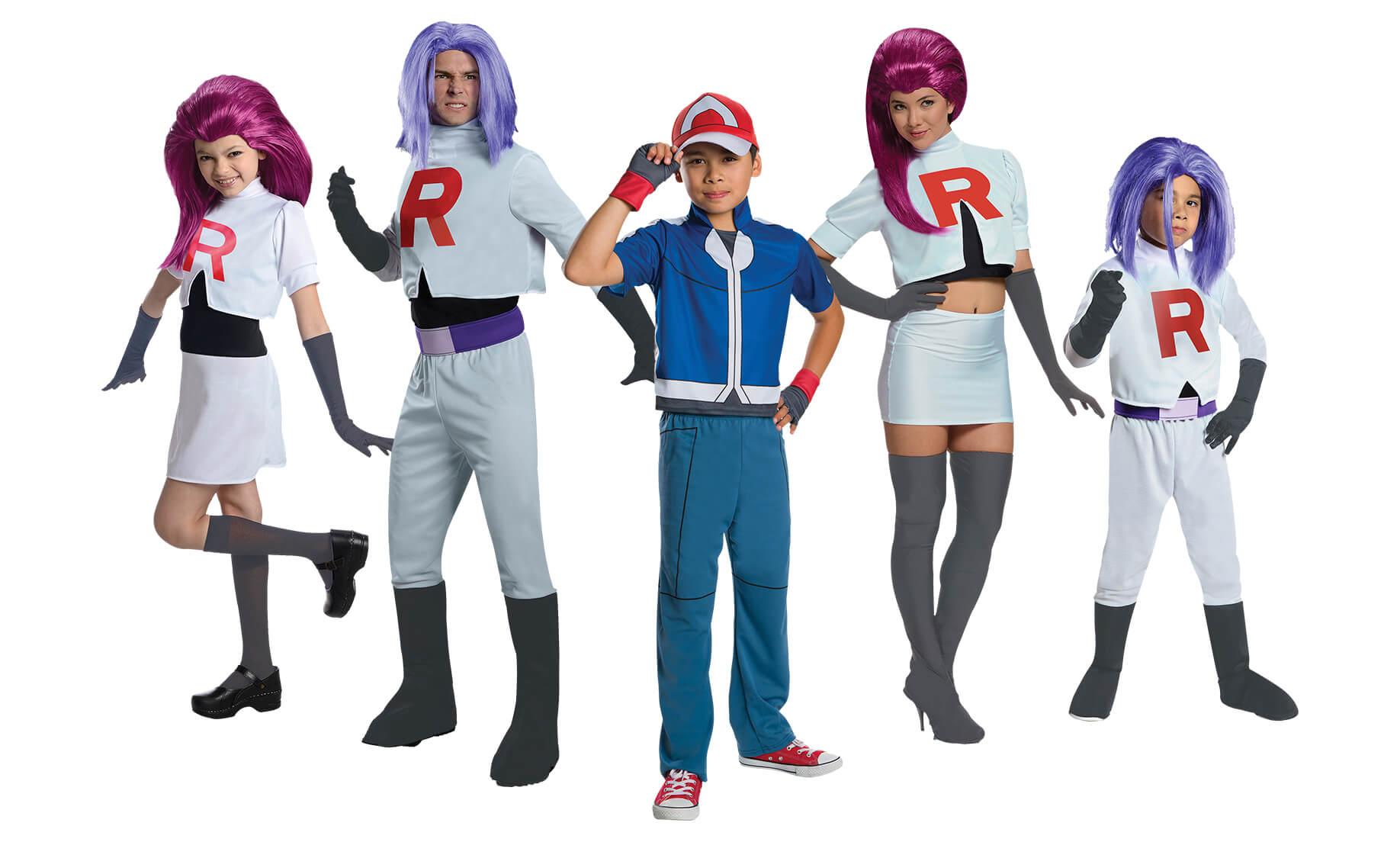 Pokemon Trainer Costumes