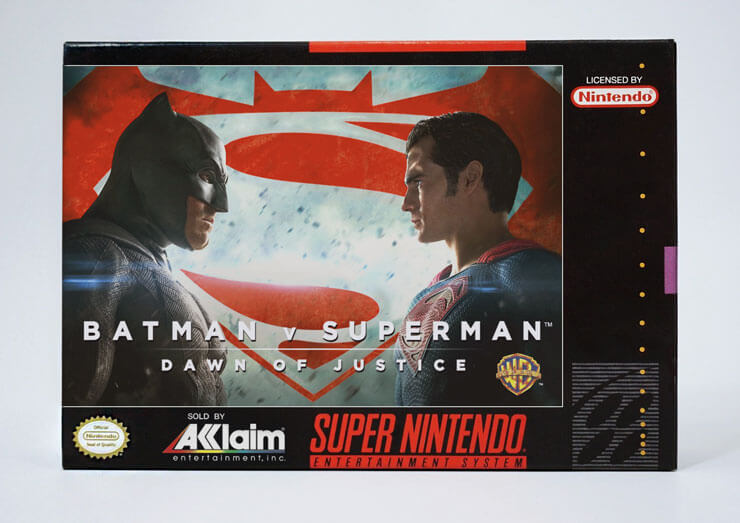 Super 16: 2016 Movies and TV Shows as Super Nintendo Games