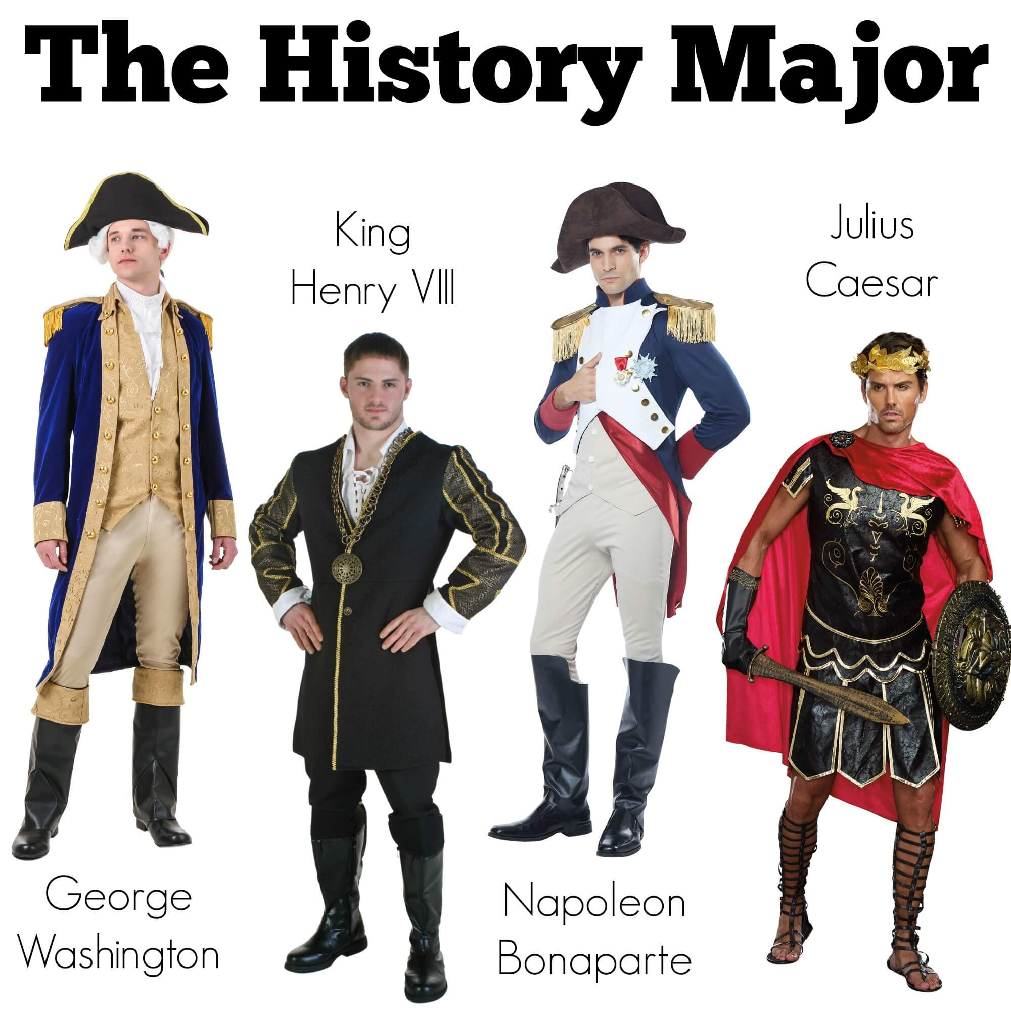 Halloween Costumes for a History Major