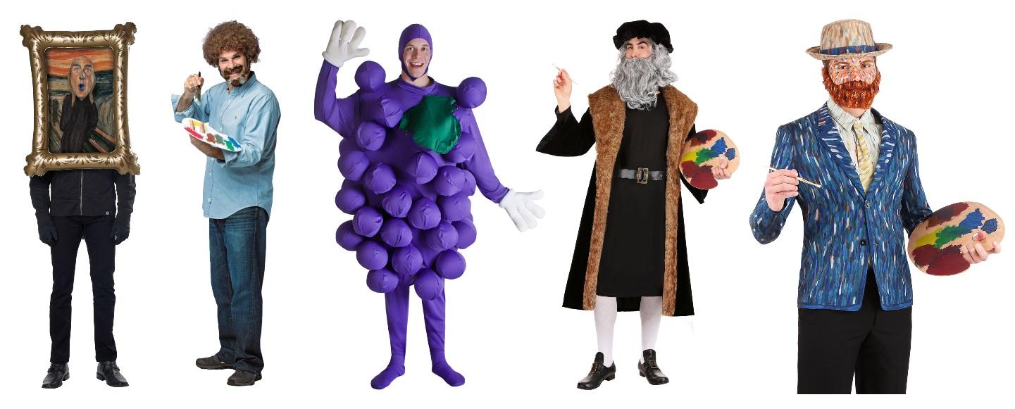 Art Major Costumes for Guys