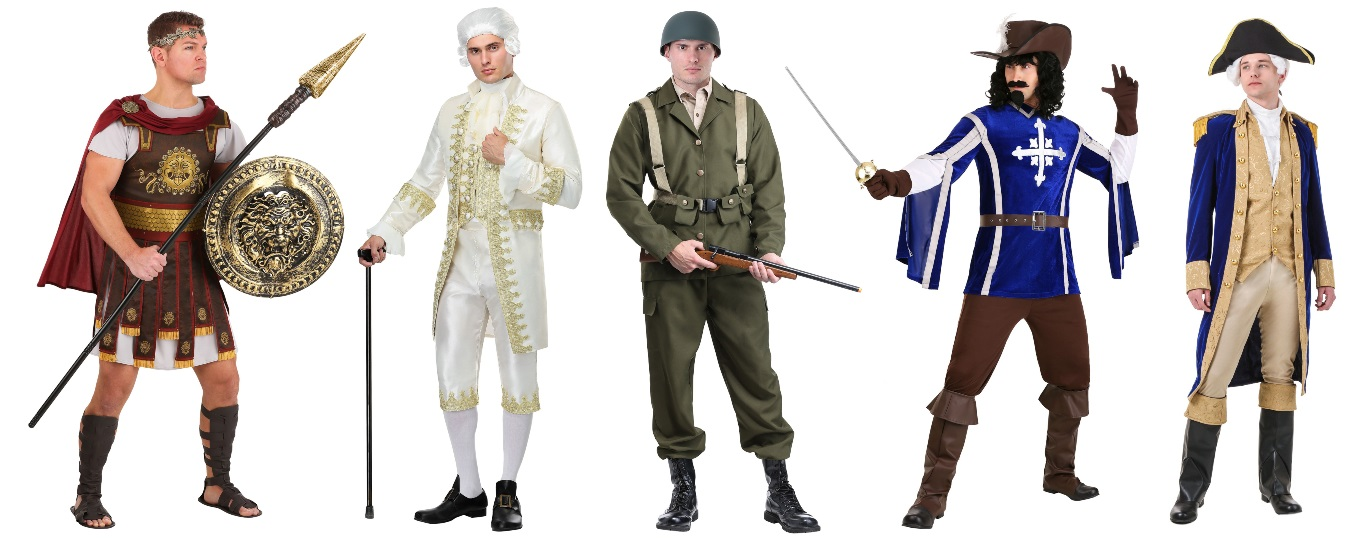 History Major Costumes for Guys
