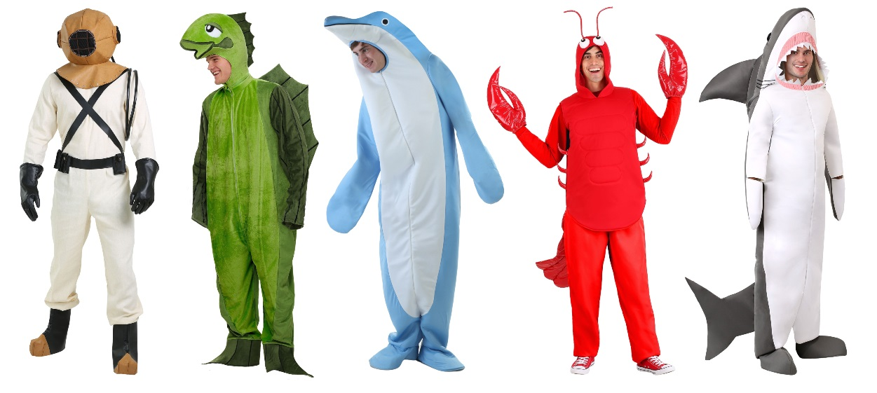 Marine Biology Major Costumes for Guys