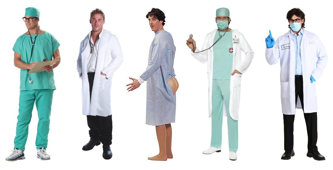 Pre-Med Major Costumes for Guys