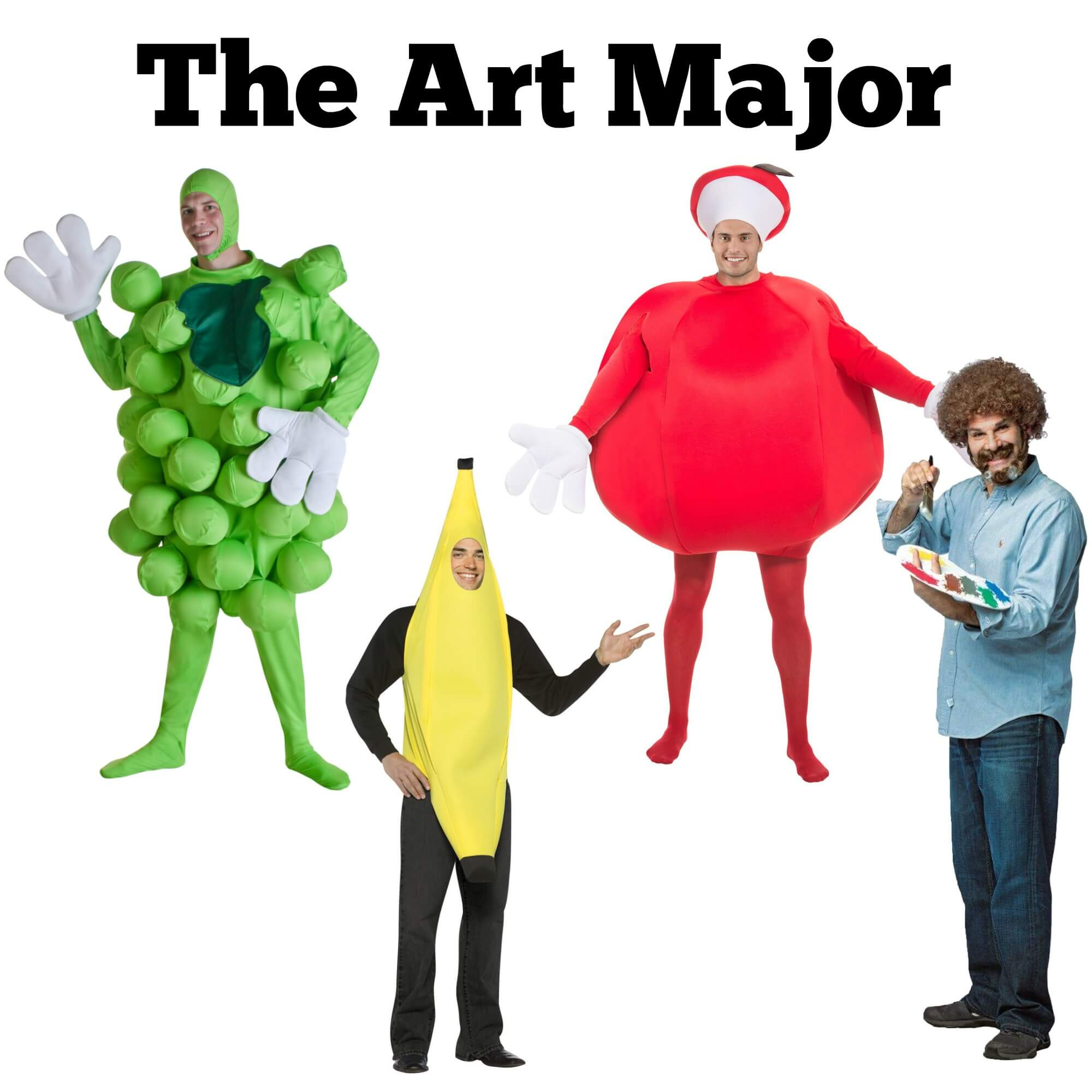 Halloween costume ideas for the Art major