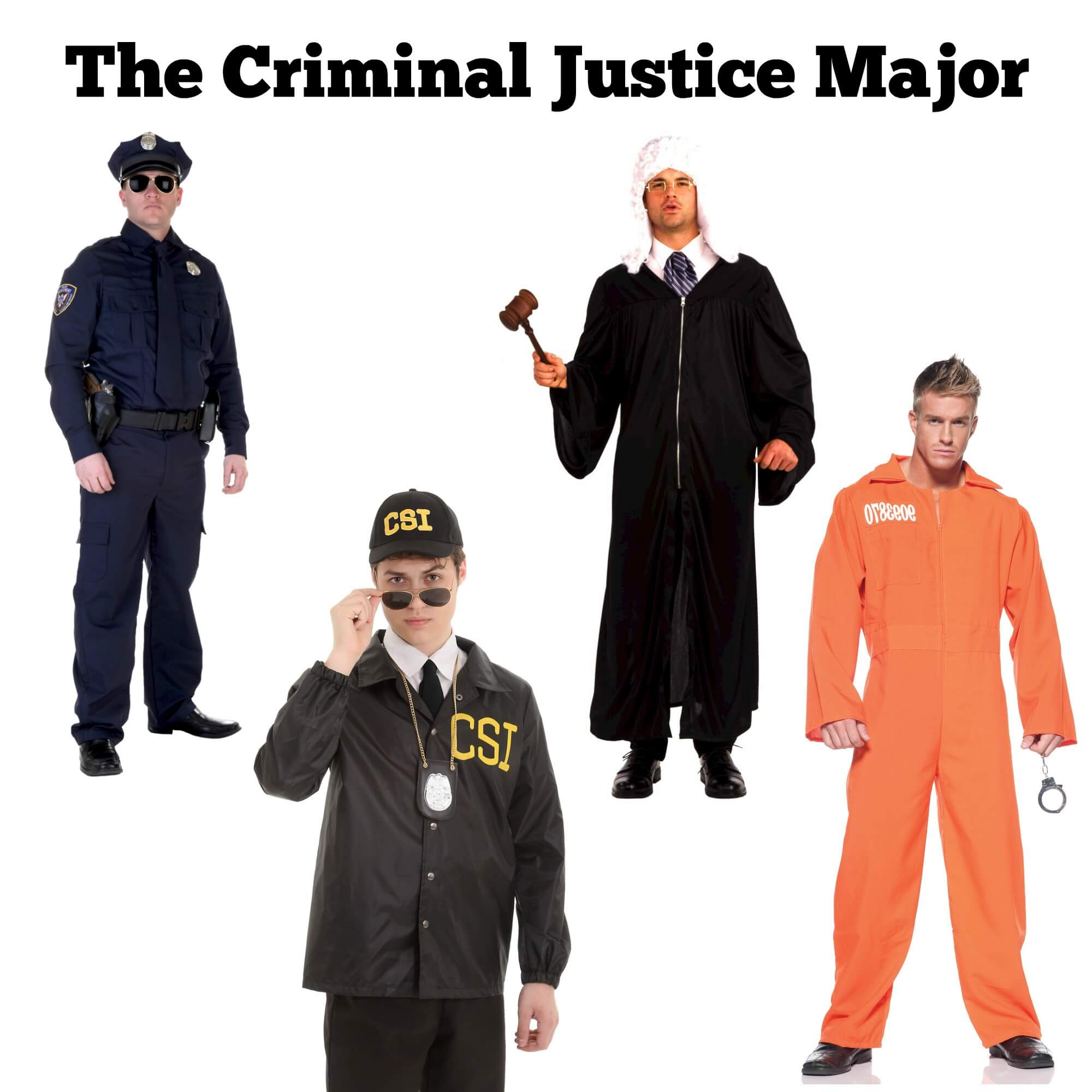 Halloween costume ideas for law enforcement majors
