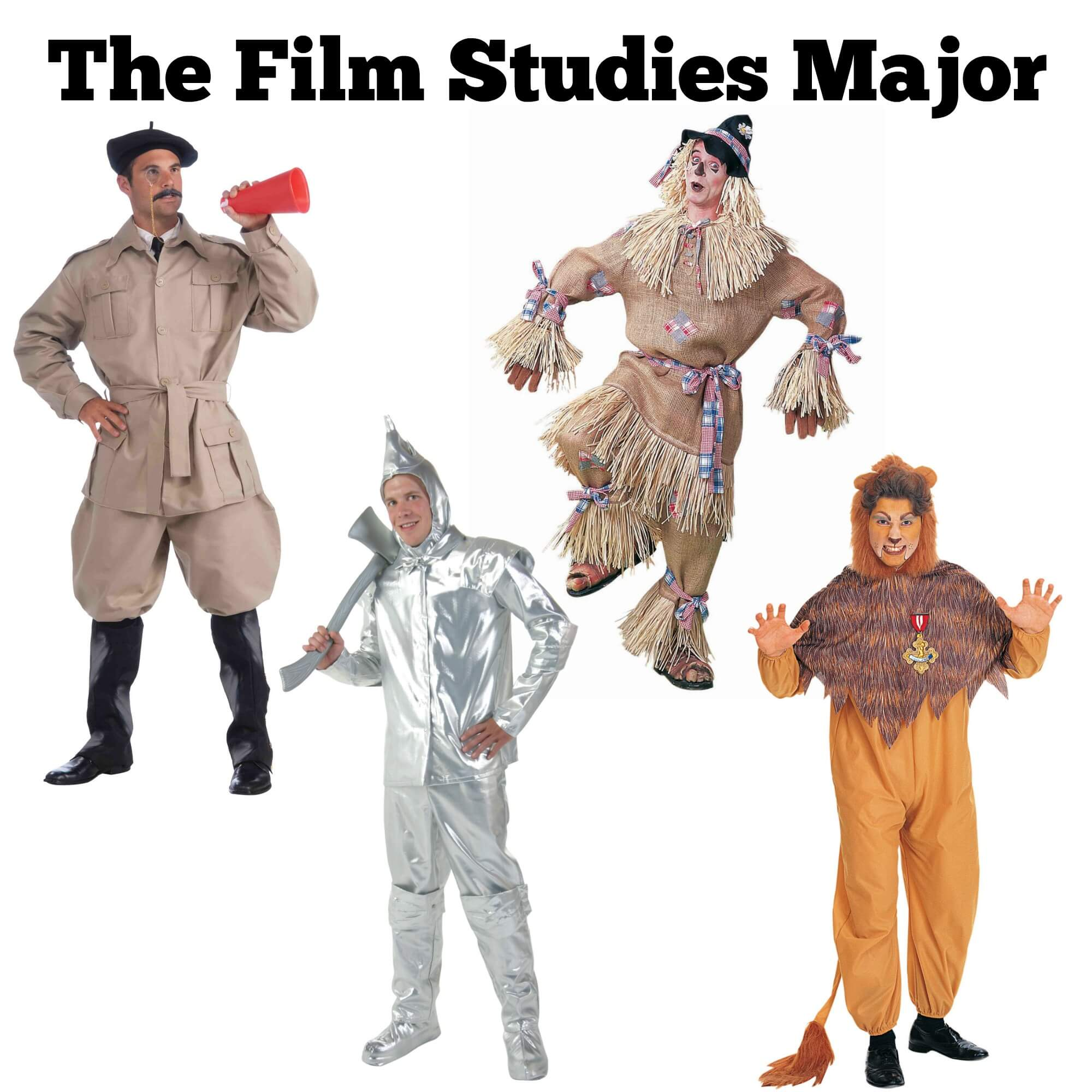 Halloween costume ideas for the Film Studies major