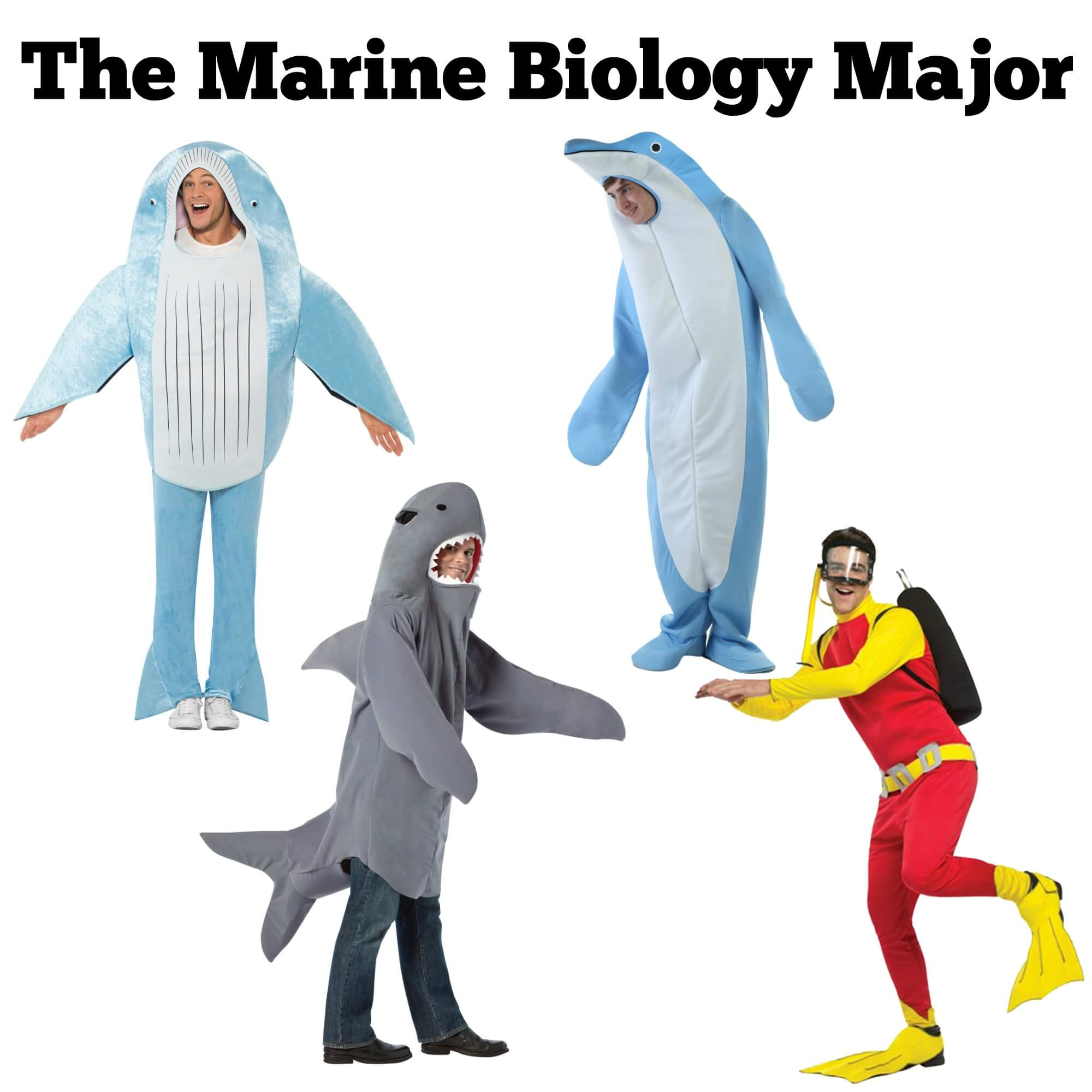 Halloween costume ideas for the Marine Biology major