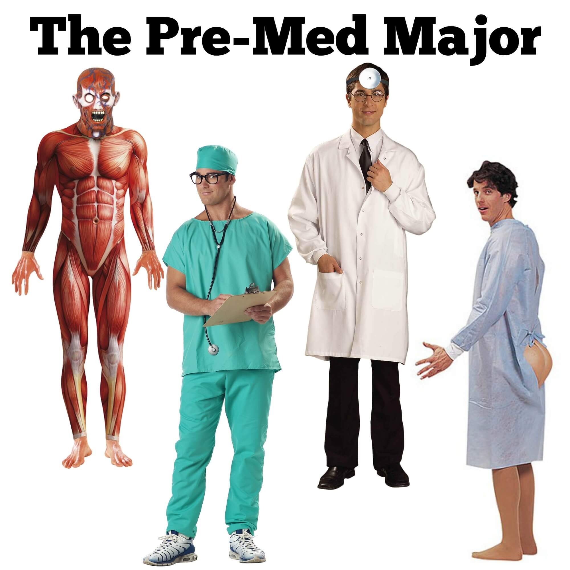 Halloween Costume Ideas for the pre-med major
