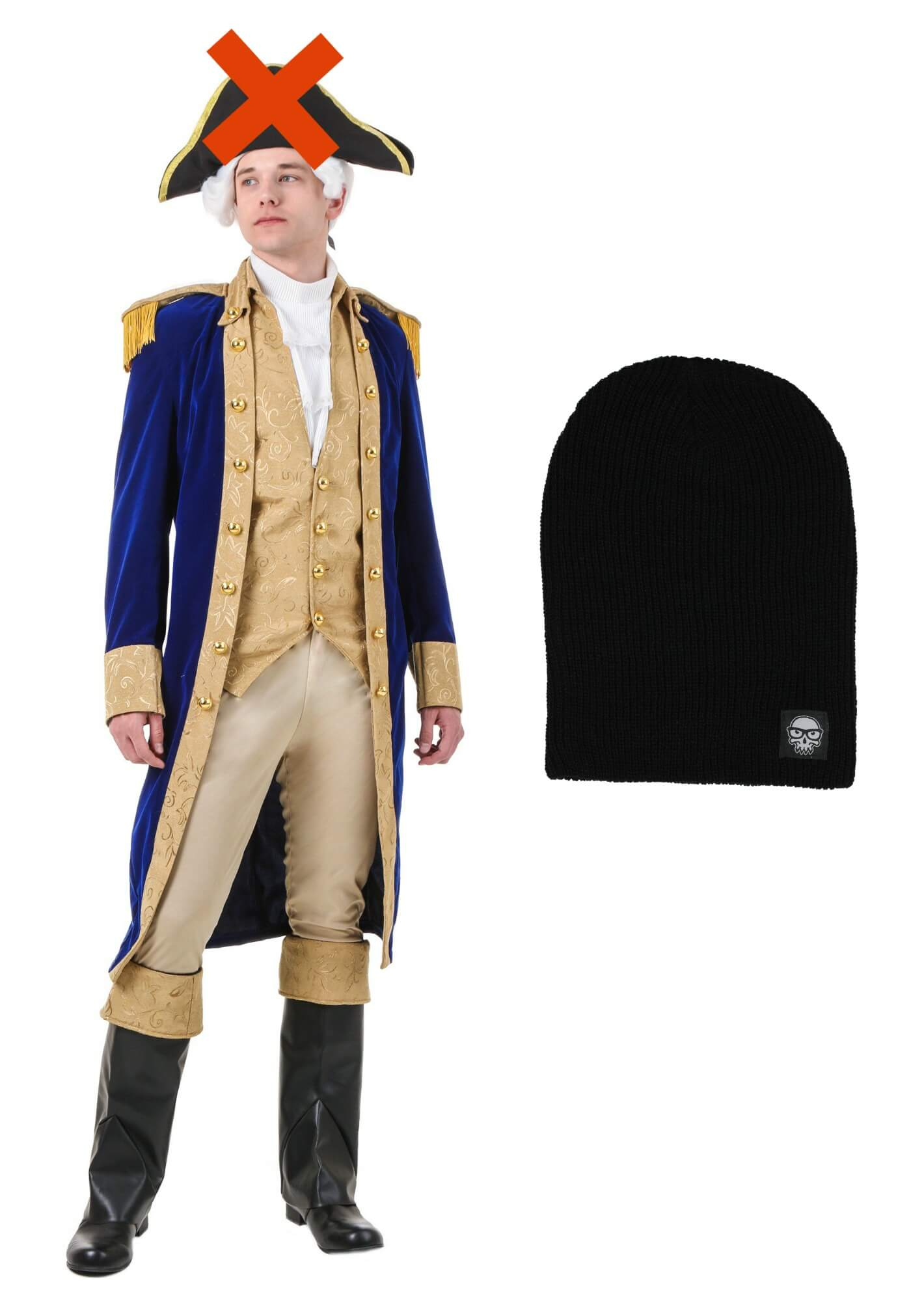 George Washington Costume - Shop Black Skullcap - Shop  sc 1 st  Halloween Costumes & DIY Hamilton Costume Ideas for Halloween That Will Leave You ...