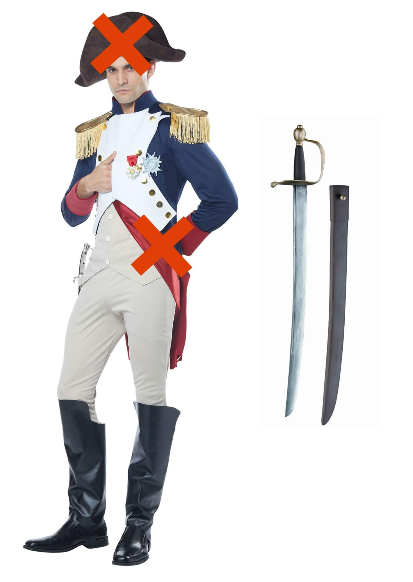 Diy hamilton costume ideas that will leave you satisfied marquis de lafayette halloween costume solutioingenieria Image collections