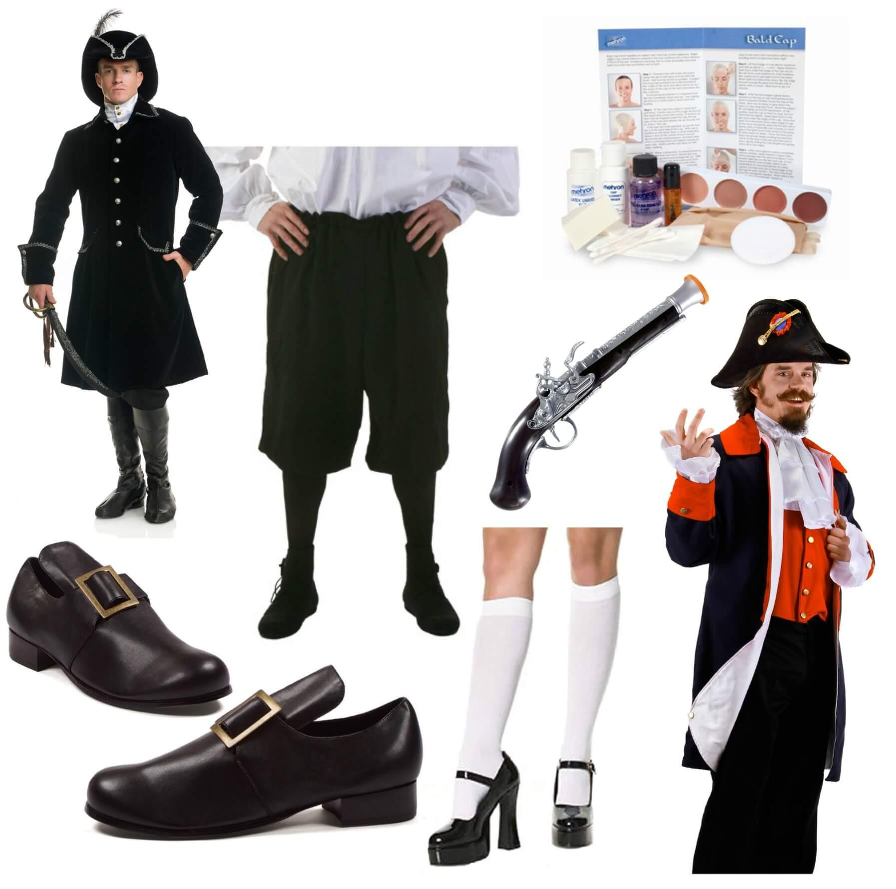 Aaron Burr Halloween Costume