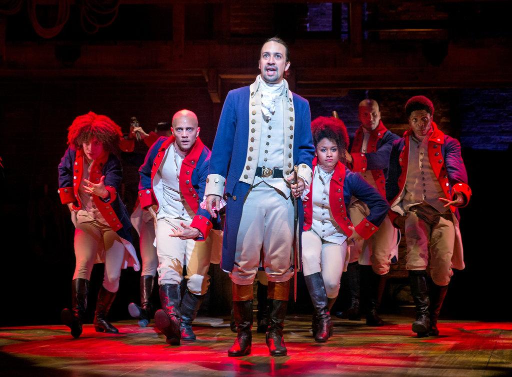 Alexander Hamilton in Hamilton