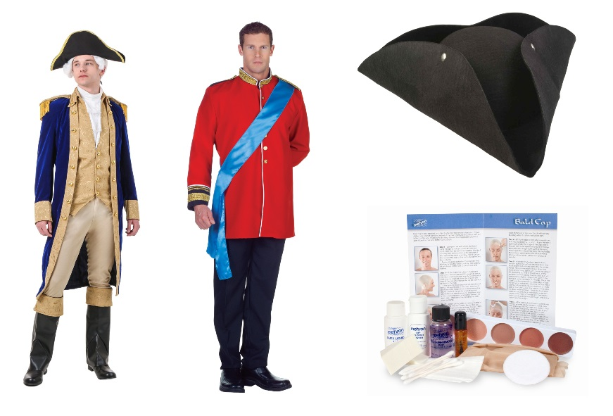 DIY George Washington Halloween Costume