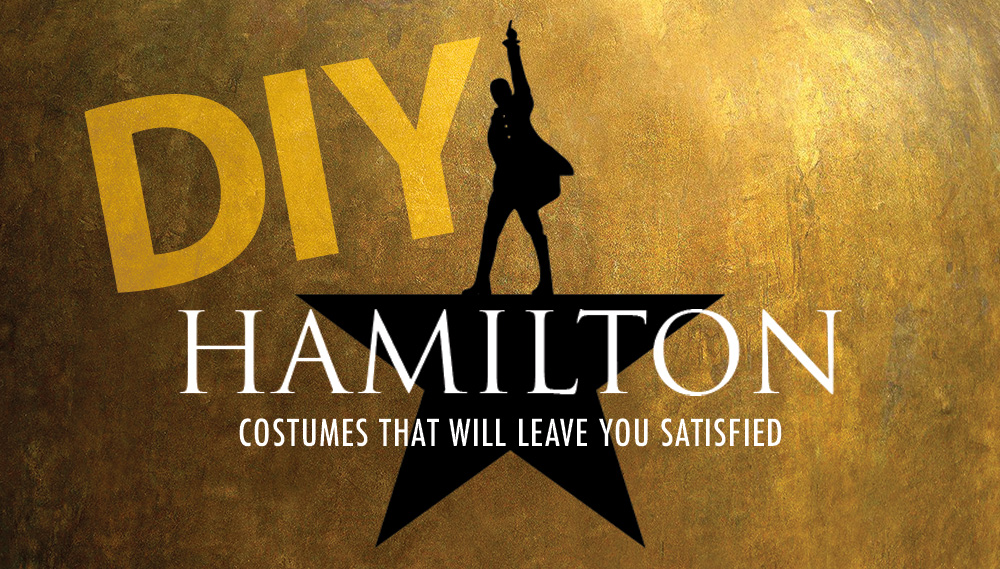 DIY Hamilton Costumes for Halloween