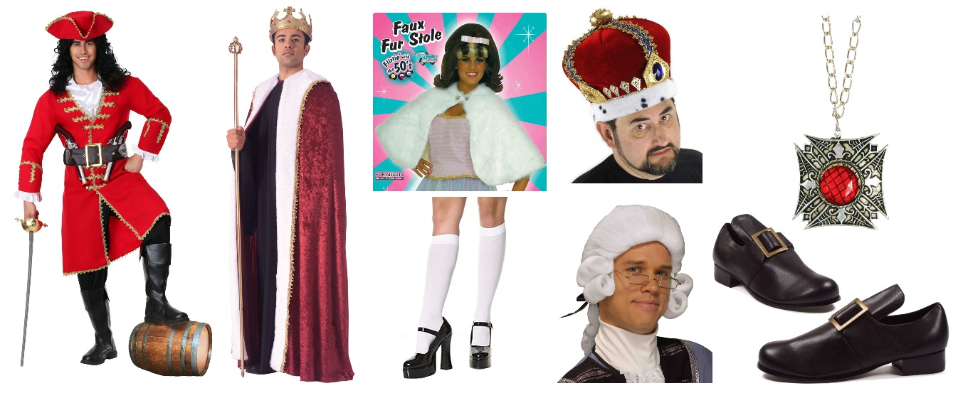 DIY King George III Halloween Costume Essentials