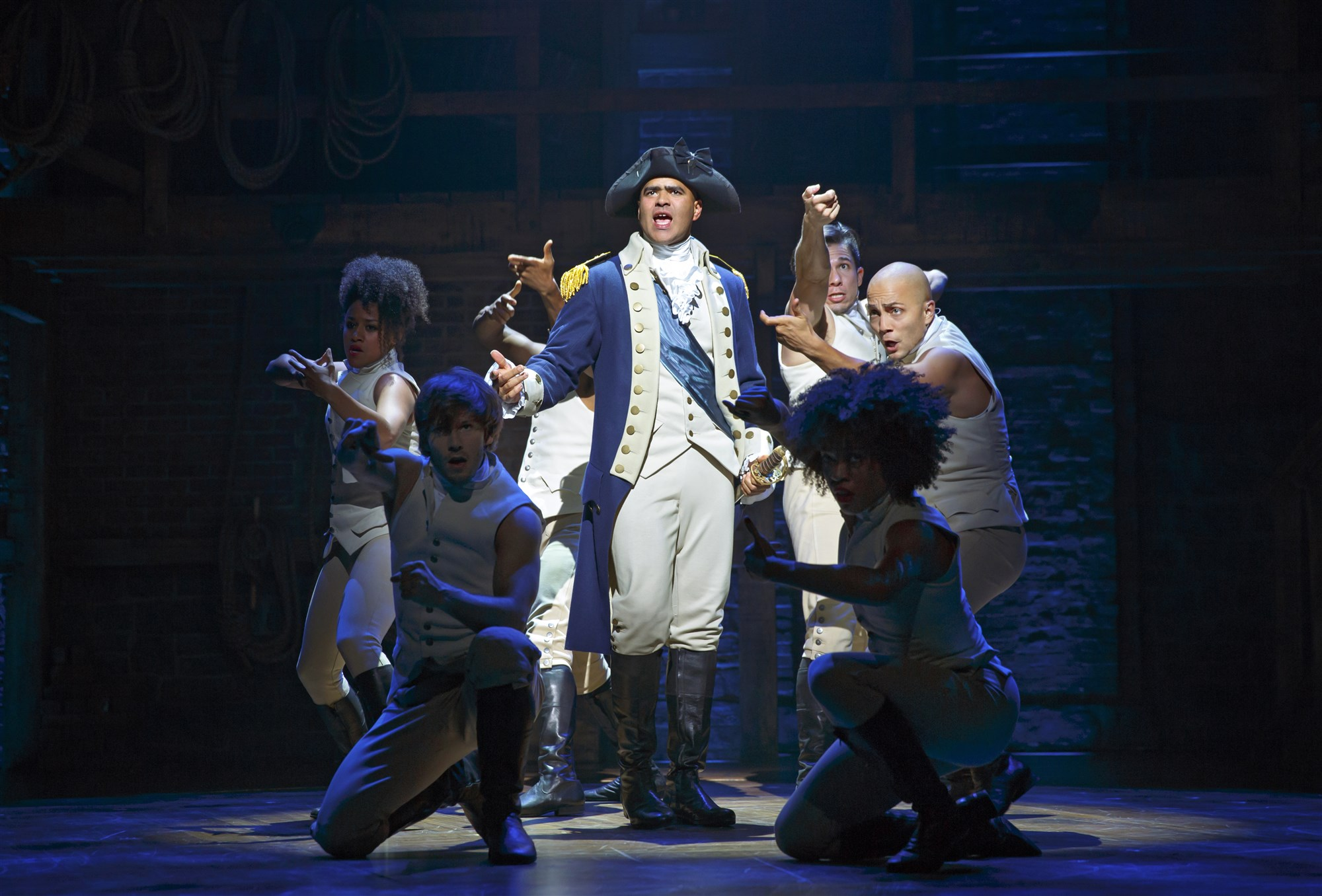 George Washington in Hamilton