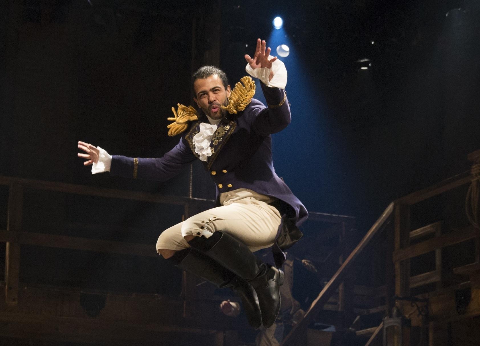 Marquis de Lafayette in Hamilton