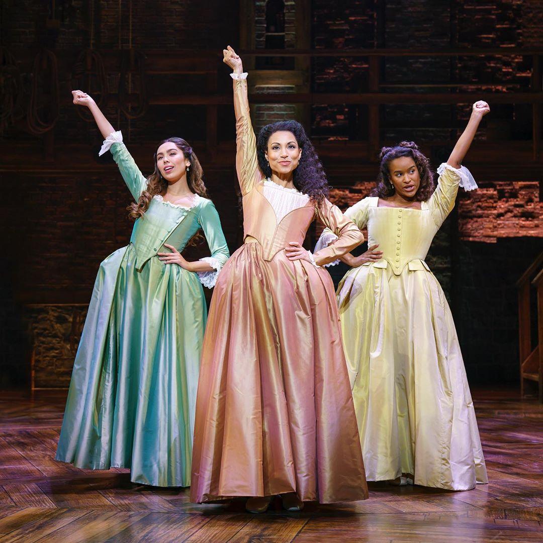 Schuyler Sisters in Hamilton