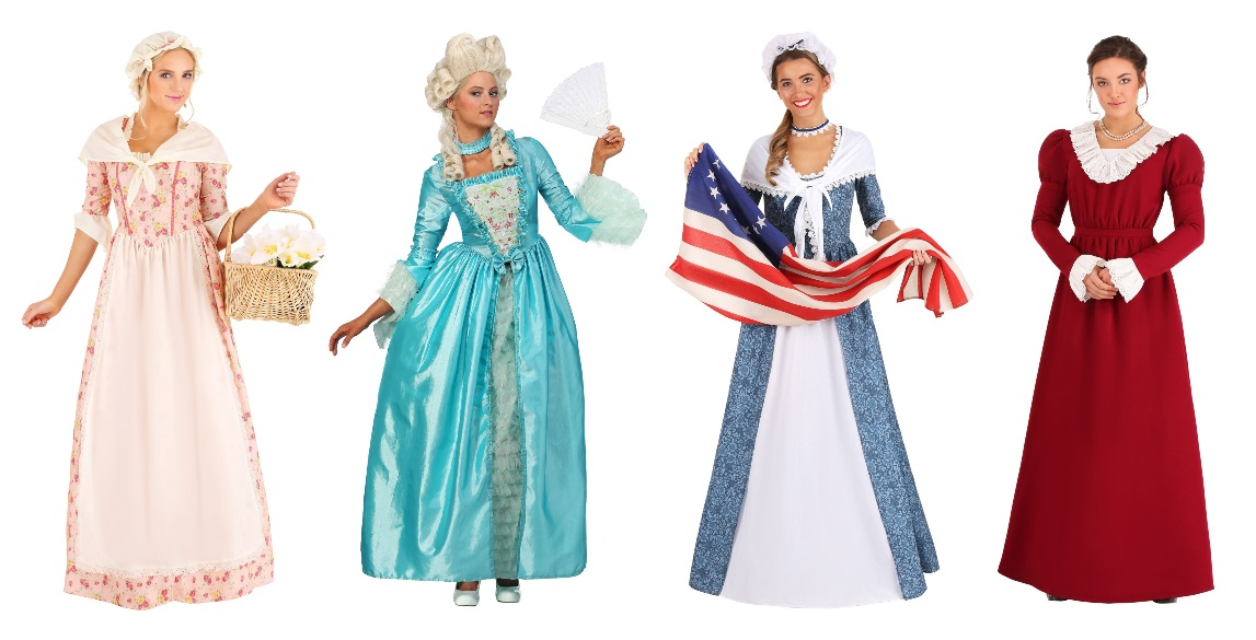 Women's Historical Costume Dresses