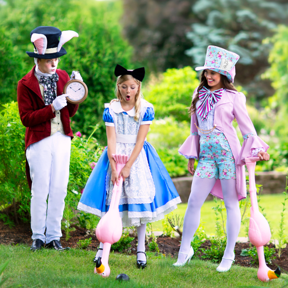 Alice in Wonderland Costumes for Families