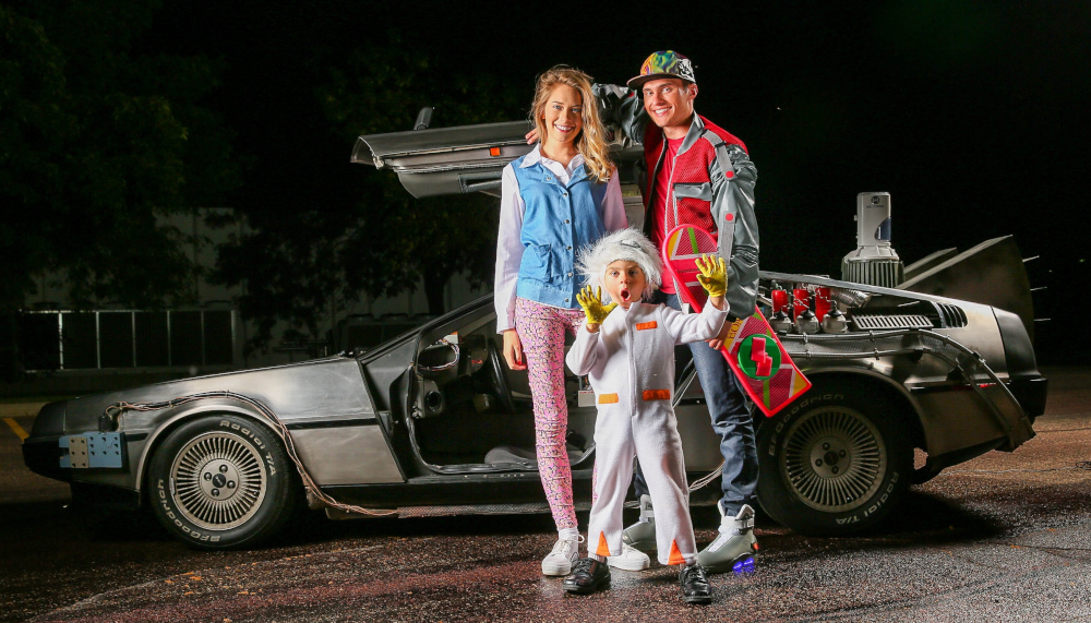 Back to the Future Costumes for Families