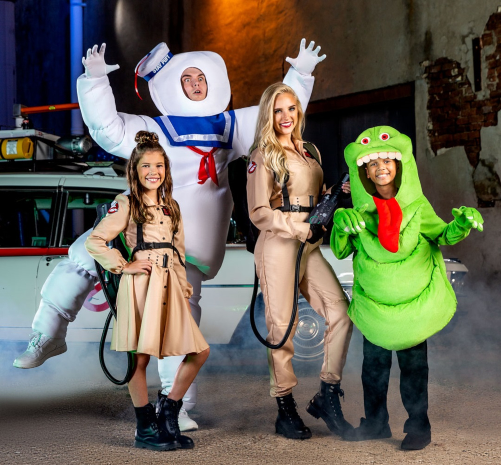 Ghostbusters Costumes for Families