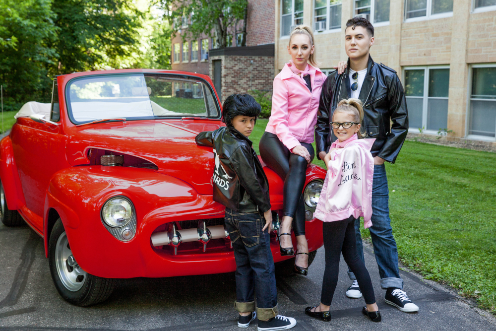 Grease Costumes for Families