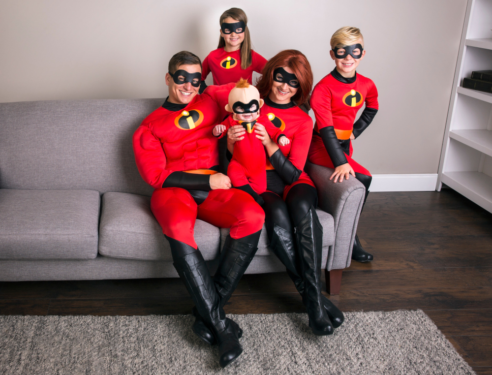 Incredibles Family Costumes